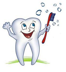 Чистка зубов и регулярное посещение стоматолога, чтобы предотвратить стоматит